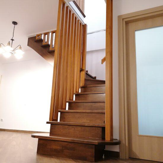 Venbocons - Scari de interior din lemn masiv